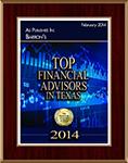 Top Financial Advisors in Texas 2014