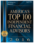 American's top 100 independent financial advisors
