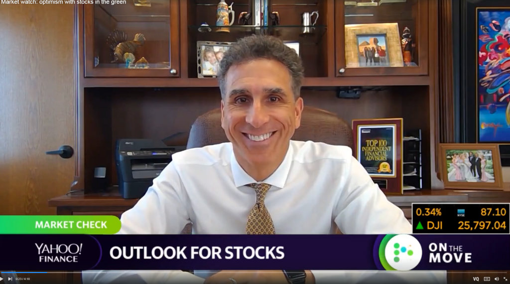 Yahoo! Finance: Optimism With Stocks In The Green